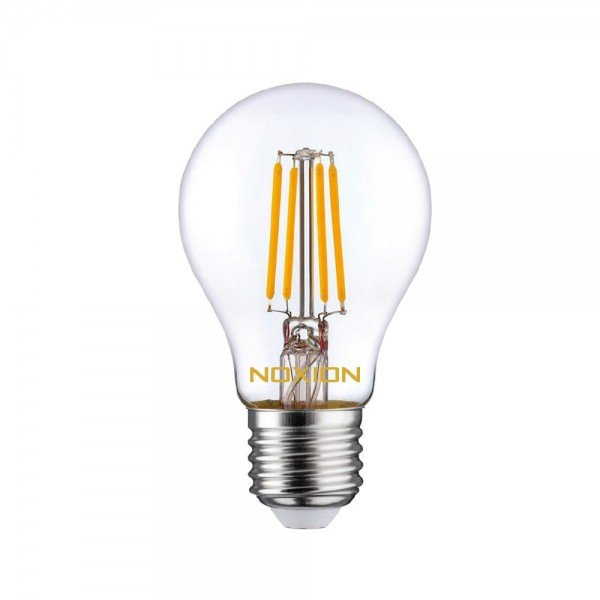 Noxion Lucent Filament LED Bulb 8W 827 A60 E27 Helder | Zeer Warm Wit - Vervangt 75W