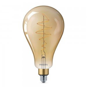 Philips Classic LED Giant Vintage E27 A160 6.5W 820 Goud | Extra Warm Wit - Dimbaar - Vervangt 40W