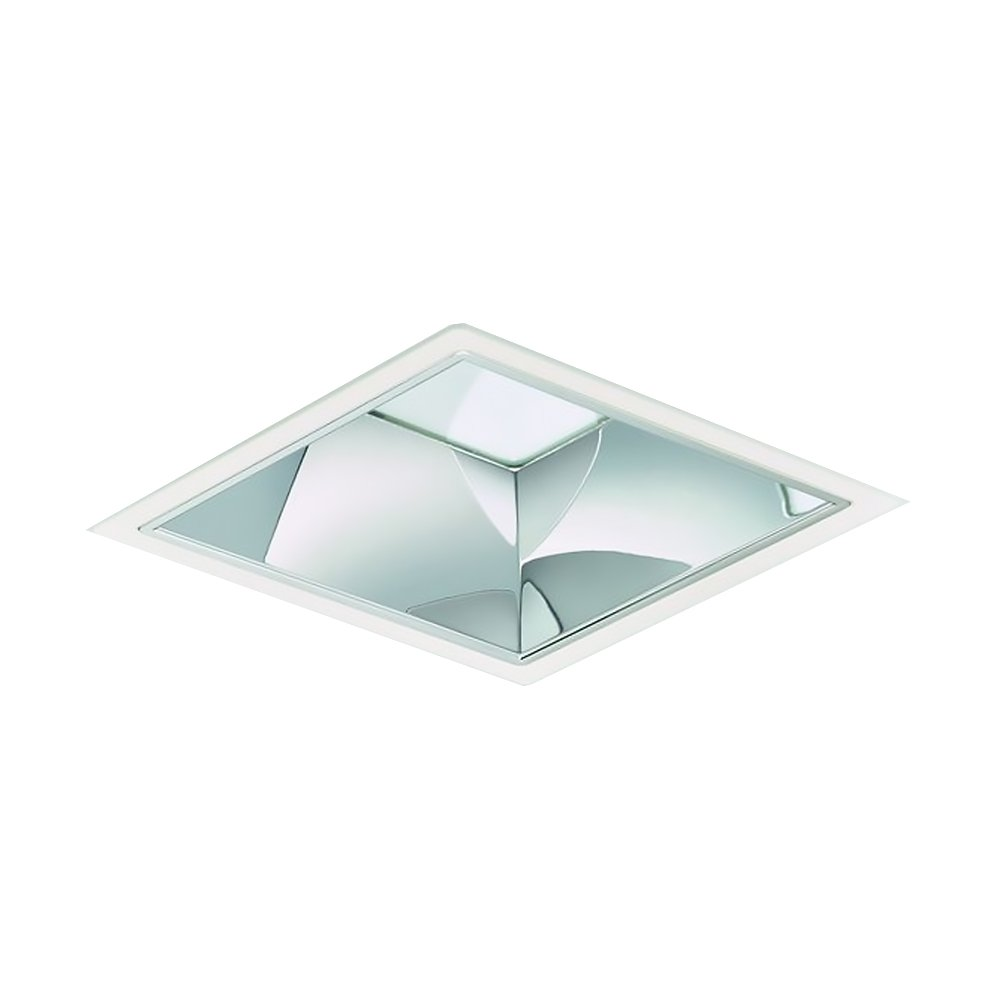 Philips LED Downlight LuxSpace Squared DN572B LED24S/840 2600lm IP20 C IA1 Wit | Dimbaar - Koel Wit