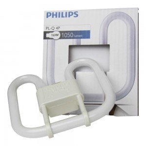 Philips PL-Q 16W 827 4P (MASTER) | Zeer Warm Wit - 4-Pin