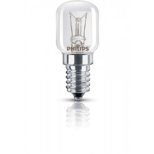 Philips SpecialtyBulb Appliances 25W E14 230V Helder Dimmable | voor Ovens
