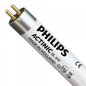 Philips TL-D 6W 10 Actinic BL (MASTER) | 21cm