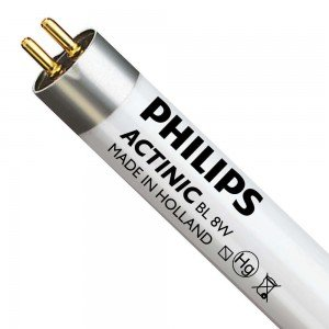 Philips TL-D 8W 10 Actinic BL (MASTER) | 29cm