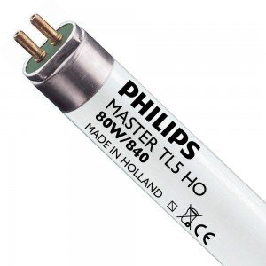 Philips TL5 HO 80W 840 (MASTER) | 145cm - Koel Wit