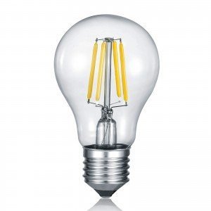 LED filament lamp E27 8W Switch dimmer
