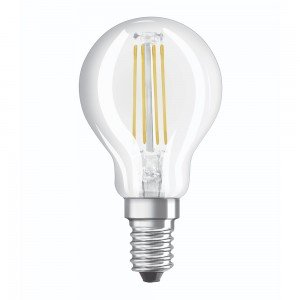 Osram Relax and Active Classic E14 P45 4W 827 470lm Filament   Zeer Warm Wit - Vervangt 40W