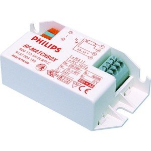Philips HF-Matchbox Red 118 SH PL-C/PL-T for 1x18W
