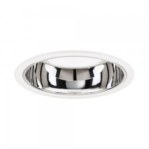 Philips LED Downlight LuxSpace Compact Low Height DN570B LED60S/830 6000lm IP20 PSD-VLC-E C Wit | Dali Dimbaar - Warm Wit
