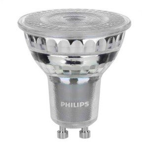 Philips LEDspot Value GU10 6.2W 940 36D (MASTER) | Dimmable - Best Colour Rendering - Cool White - Replaces 80W